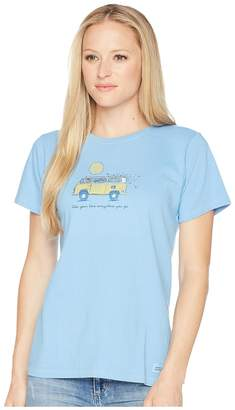 Life is Good Take Your Love Van Crusher Tee Women's T Shirt