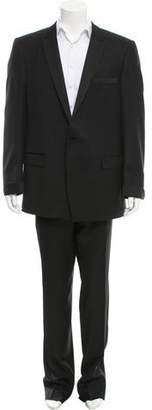 Versace Metallic-Effect Wool Tuxedo w/ Tags