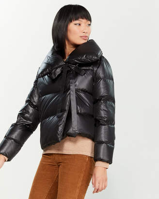 Bacon Down Wrap Puffer Jacket