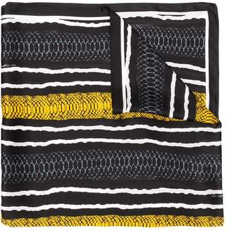 Class Roberto Cavalli snake print scarf