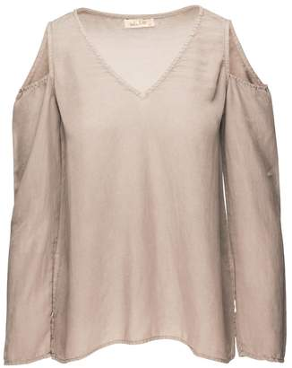 Bella Dahl Cold Shoulder Shirt