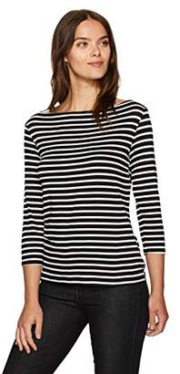 Trina Turk Women's Tamora Boatneck Striped Must Have Jersey Top