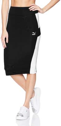 Puma Women's Pencil Skirt, Black, XXL