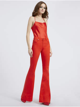 Alice + Olivia BEAUTIFUL MID RISE BELL JEAN