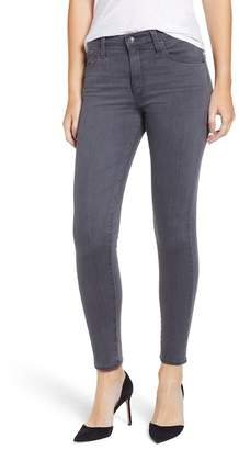 AG Jeans The Farrah High Waist Ankle Skinny Faux Leather Pants