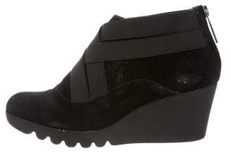 Donald J Pliner Mona Suede Wedge Booties