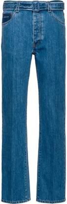 Prada belted jeans