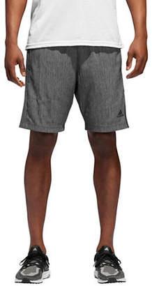 adidas Speedbreaker Vertical Heather Mesh Shorts