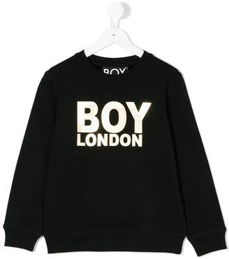 Boy London Kids logo print sweatshirt