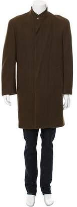 Thierry Mugler Virgin Wool Car Coat