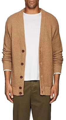 Barneys New York Men's Alpaca-Cotton Shawl Cardigan - Camel