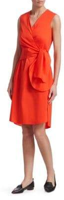Akris Punto Wrap-Waist Dress