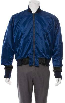 Longjourney Deconstructed Bomber Jacket w/ Tags