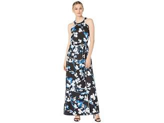 Calvin Klein Halter Maxi Dress