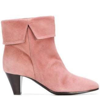 Via Roma 15 heeled foldover ankle boots