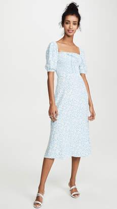 Faithfull The Brand Majorelle Midi Dress