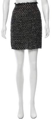 Lanvin Tweed Mini Skirt