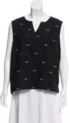 Eileen Fisher Sleeveless Embroidered Top w/ Tags