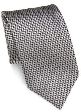 BrioniBrioni Embroidered Silk Tie