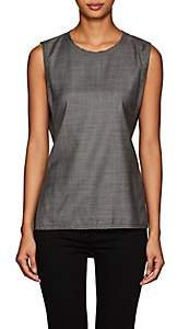 Colovos COLOVOS WOMEN'S VIRGIN WOOL BELTED VEST - GRAY SIZE S