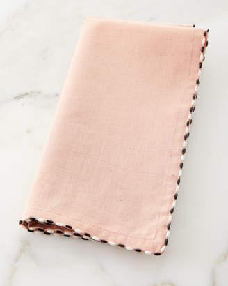 Mackenzie Childs Linen Napkin, Blush