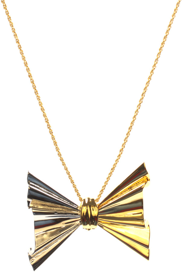 Ted Baker Double Bow Necklace