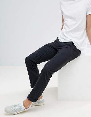 Lindbergh Chinos in Dusty Black