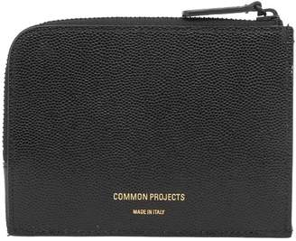 Common Projects Grain Leather Zip Wallet
