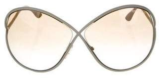 Tom Ford Lilliana Oversize Sunglasses