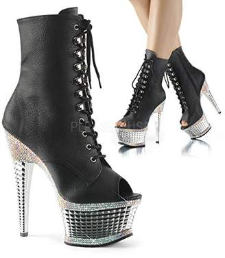 Pleaser USA Women's Illu1021rs/bpu/sch Ankle Bootie