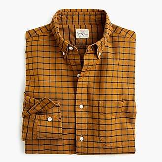 J.Crew American Pima cotton checked oxford shirt with mechanical stretch