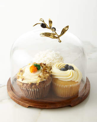 Michael Aram Olive Branch Cake Server