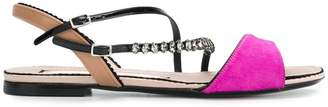 No.21 multi-strap studded sandals