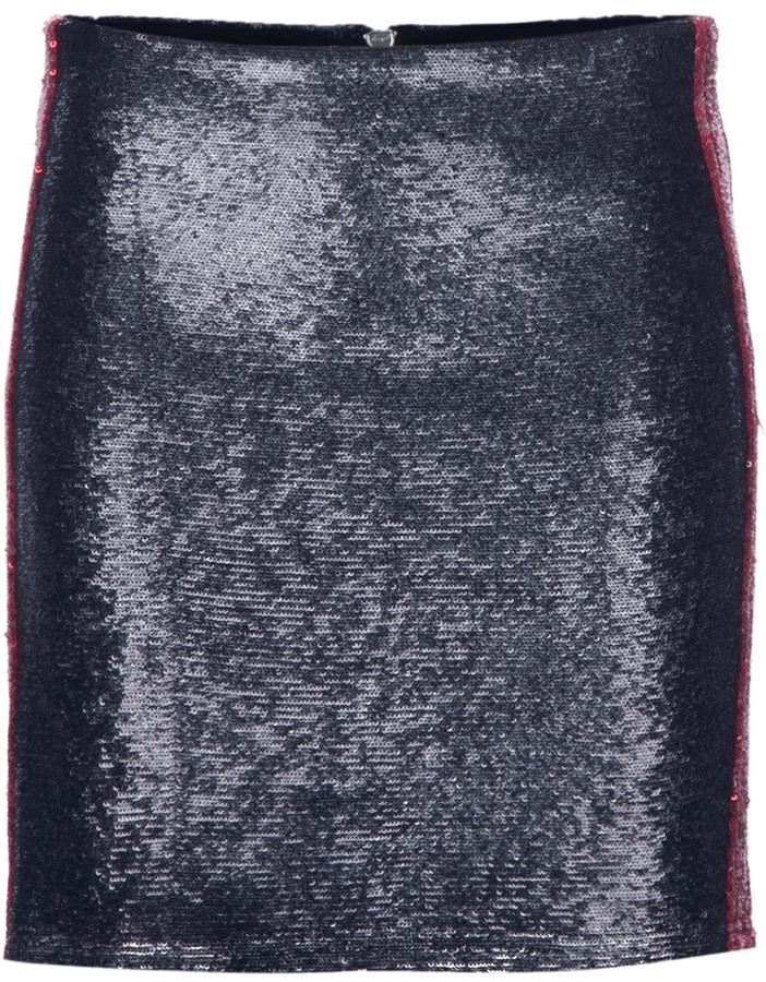 Iro sequined skirt