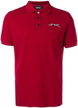 Just Cavalli logo polo shirt