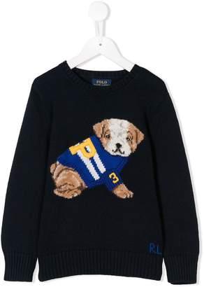 Ralph Lauren Dog knit jumper