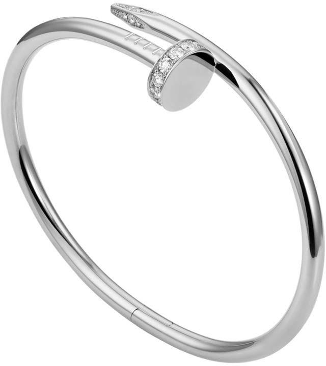 White Gold Juste un Clou Pavé Diamond Bracelet