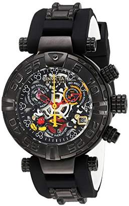Invicta Women's 'Disney Limited Edition' Swiss Quartz Stainless Steel and Silicone Casual Watch