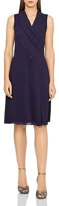 Reiss Alana Pleat-Front Dress