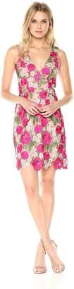 Dress the Population Women's Mina Floral Lace Dress
