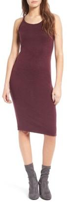 Women's Leith Melange Body-Con Dress $55 thestylecure.com