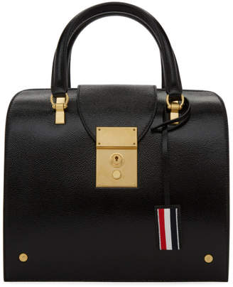 Thom Browne Black Mrs Thom Jr. Duffle Bag