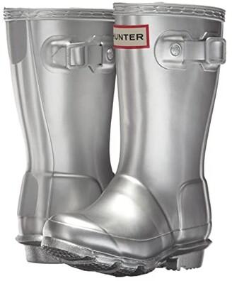 Hunter Original Metallic Rain Boot (Toddler/Little Kid)