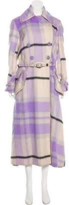 Missoni Alpaca Double-Breasted Coat