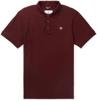 Reigning Champ Slim-Fit Cotton-Piqué Polo Shirt
