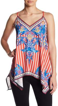 Flying Tomato Patterned V-Neck Tank Top