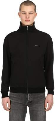 Balenciaga Jersey Crepe Track Jacket