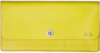 Corban & Blair Basics Yellow Travel Wallet