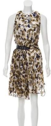 Salvatore Ferragamo Silk Printed Dress