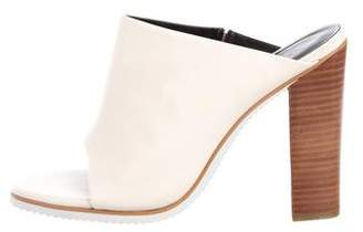 Tibi Leather Slide Sandals